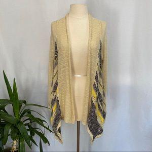 Charlotte Russe patterned cardigan